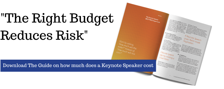 Guide on how much does a Keynote Speaker cost