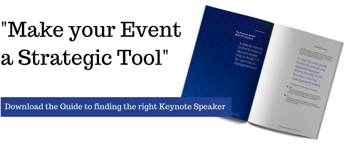 Guide to finding the right Keynote Speaker